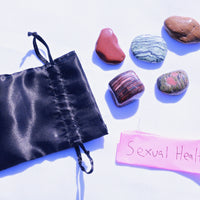 """Sexual Health"" Healing Gemstone Collection Bag"