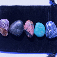 Healing Stones for Calming Stress & Anxiety