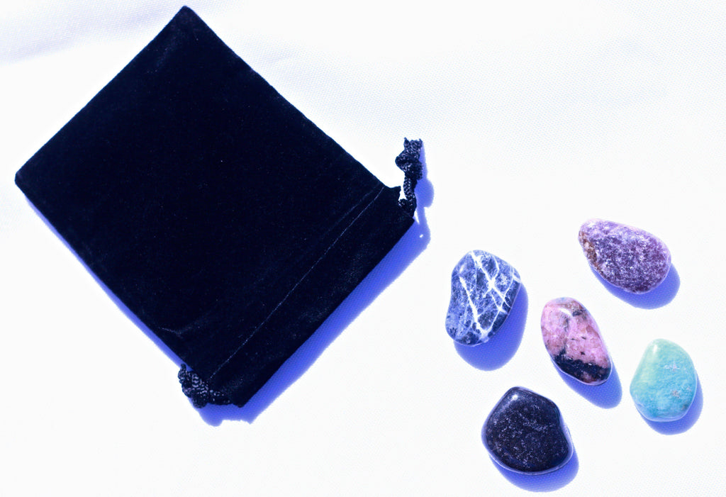 Crystals for Calming Stress & Anxiety