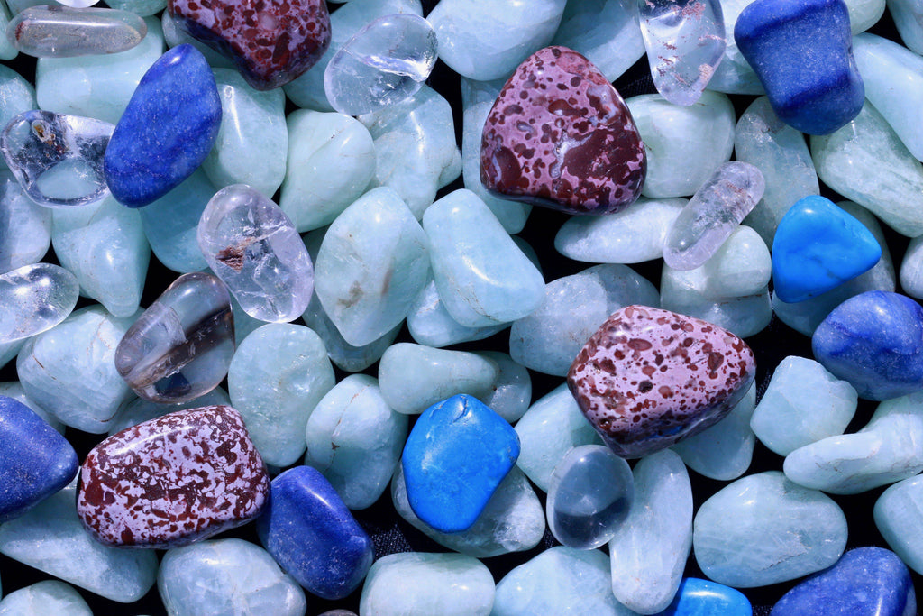 Crystals for Throat Chakra Healing