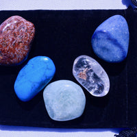 Healing Stones for Throat Chakra Healing