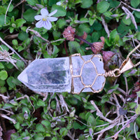 Clear Quartz Pendant for Sale