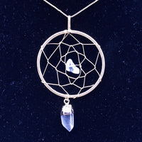 Dreamcatcher Healing Crystal Necklace