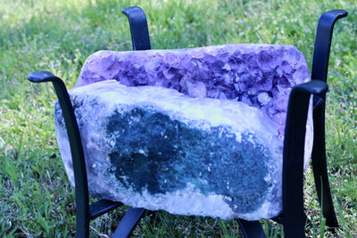 Amethyst Geode Table