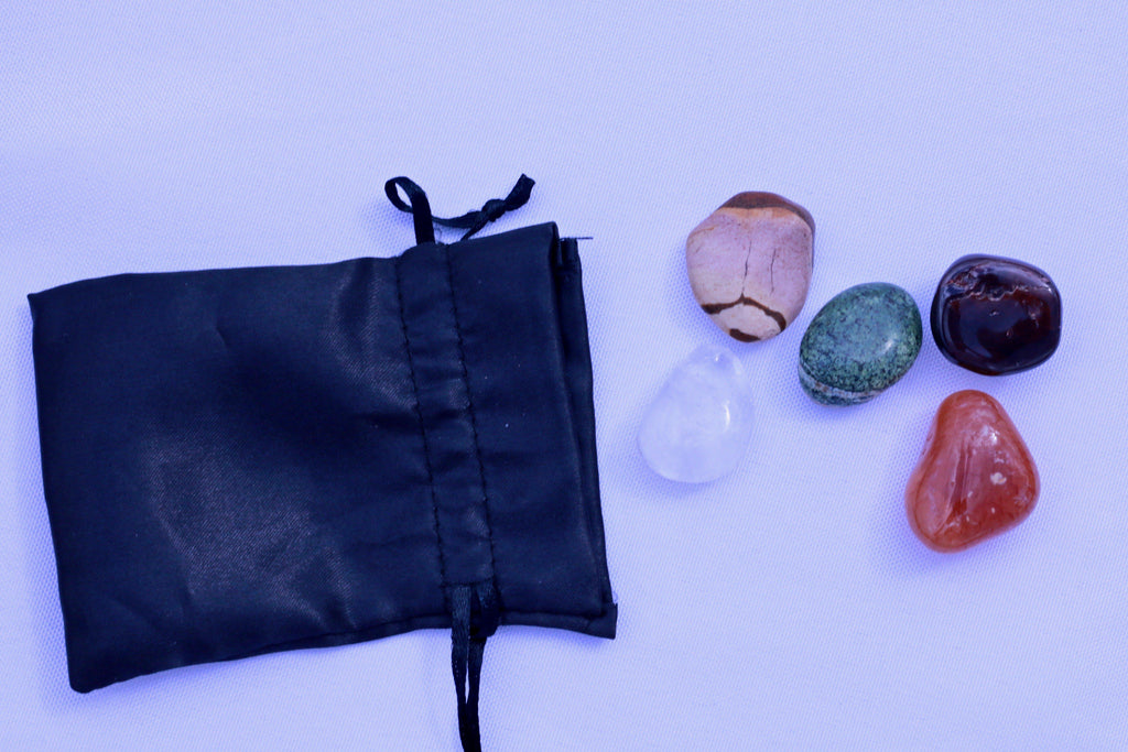 """Virgo"" Zodiac Sign Gemstone Collection Bag"