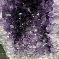 """ETERNAL BLESSINGS"" Tall Amethyst Geode 22.00 High Quality Brazil Cathedral NS-506"