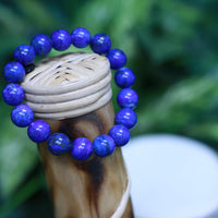 "High Quality Lapis Lazuli w Pyrite Bracelet 3.50 One Size Fits All ""Boujee"" Jewelry"