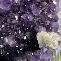 """TRANQUILITY TOWER"" Huge Amethyst Geode 29.00 High Quality Deep Giant Crystal NS-517"