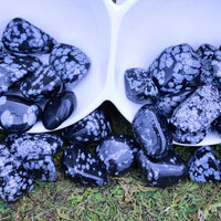 Snowflake Obsidian LIGHTEN THE DARKNESS Purity Healing Gemstone