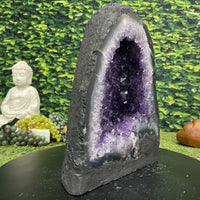 """PURE JOY"" Amethyst Geode Cathedral 14.00 Brazil High Quality NS-536"
