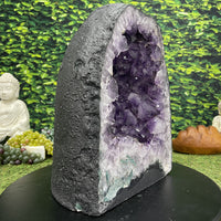 """REJUVENATING RADIANCE"" High Quality Amethyst Geode 15.00 Cathedral Brazil High Quality NS-540"