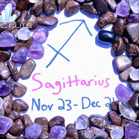 Sagittarius Zodiac Sign Gemstone Collection Bag