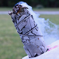 100% Organic California Sage Smudging Energy Cleansing Smoke