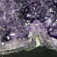 """HEART OF FLOWERS"" High Quality Amethyst Geode 15.00 Brazil Cathedral NS-571"