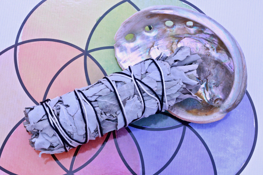 Sage Smudging Set With Abalone Shell