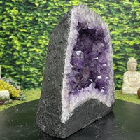 """FAR OUT STARMAN"" Amethyst Geode Cathedral 10.00 High Quality Brazil NS-580"