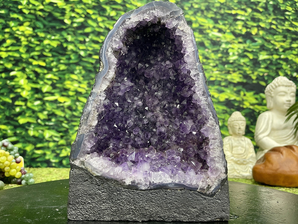 Amethyst Geode Cluster 7.75 High Quality AA-24s