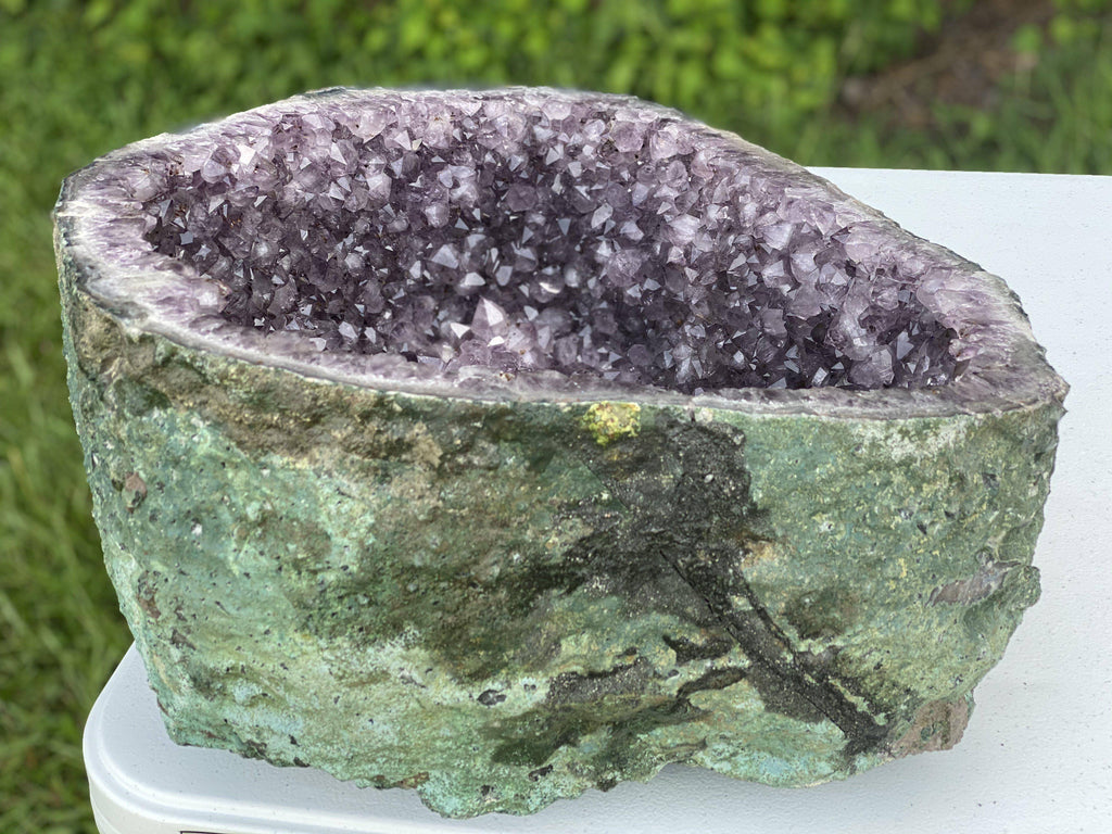 Amethyst Geode Cathedral 6.75 High Quality AA-14s