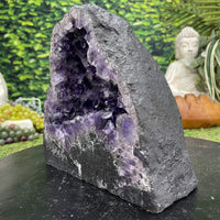 """SWEET SOUL CANDY"" Amethyst Geode Dark Purple 9.00 High Quality Cathedral NS-596"