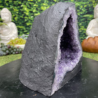 """BE THE CHANGE"" Amethyst Geode Crystal 8.00 High Quality Brazil Cathedral NS-597"