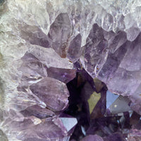 "Amethyst Geode ""PERFECT ORB OF HEALING"" 6.00 High Quality Healing Crystal NS-20"