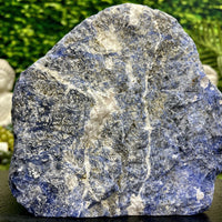 """BLUE SKIES"" Sodalite Stone High Quality Specimen 8.00 Healing Crystal NS-639"