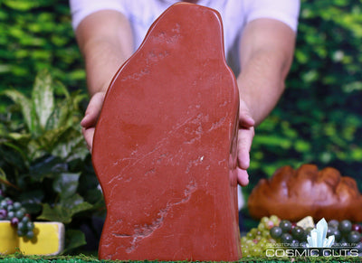 Red Jasper Crystal Structure 9.75 Rare Mineral High Quality RR-70s