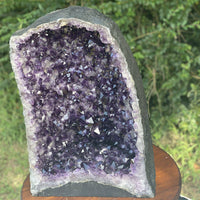 "HUGE DEEP Amethyst Geode ""FENG SHUI HEALING HAVEN"" 20.00 HIGH QUALITY Church Cathedral NS-48"