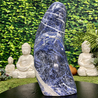 """TSUNAMI OF THE PSYCHE"" Sodalite Specimen 14.00 High Quality Healing Gemstone NS-682"