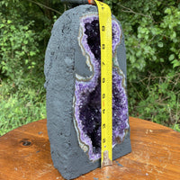 "Tall Amethyst Geode ""SUNSHINE BEACON"" 10.00 High Quality Crystal Cluster NS-99"