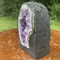 "Amethyst Geode ""PRISM PAL"" 5.50 Exceptionally High Quality DARK Purple NS-9"
