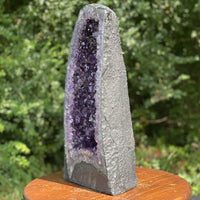 "Amethyst Geode ""LEANING TOWER OF PLEASURE"" 19.50 SUPER High Quality Cathedral NS-105"