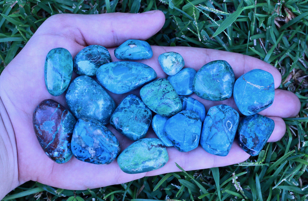 Chrysocolla Healing Rare Mineral High Quality Tumbled Stone