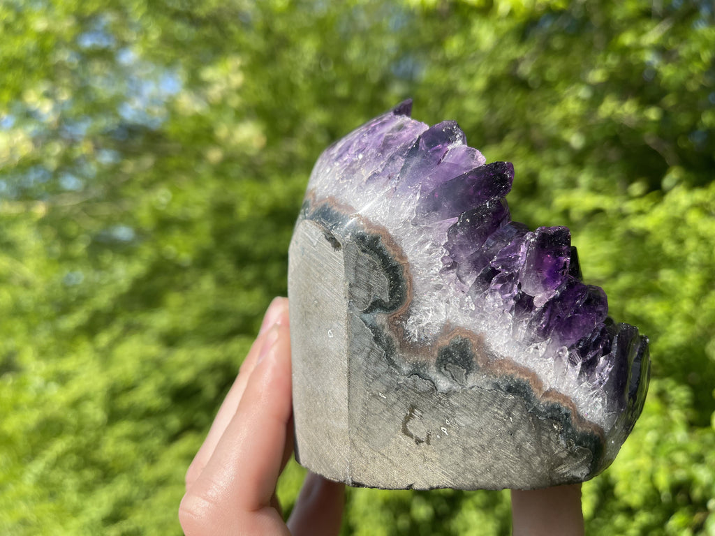 Lovely Amethyst Geode Church