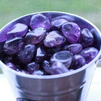 Amethyst Tumbled Stone-Cosmic Cuts