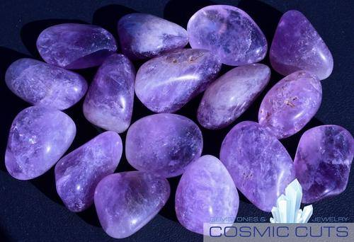 Ametrine Tumbled Stone-Cosmic Cuts