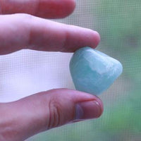 Aquamarine Tumbled Stone-Cosmic Cuts