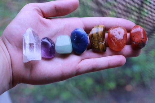 Chakra Crystals Healing Bag-Cosmic Cuts