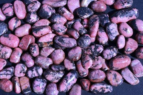 Rhodonite Tumbled Stone-Cosmic Cuts