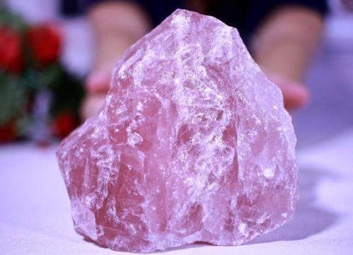 Rose Quartz Attracts Love into Your Life Self Acceptance Gratitude Confidence-Art & Collectibles-Cosmic Cuts