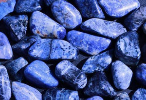 Sodalite Tumbled Stone-Cosmic Cuts