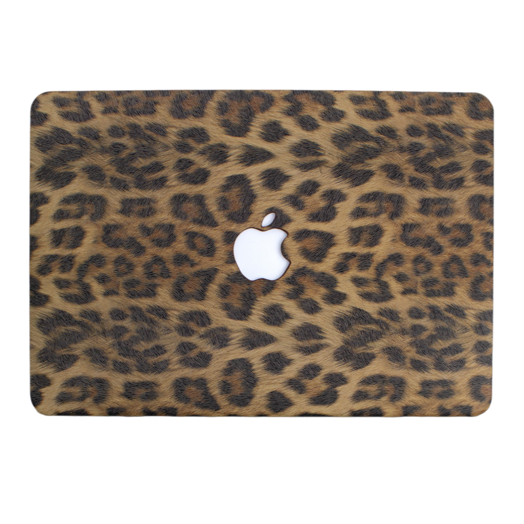 Leopard Print MacBook Case
