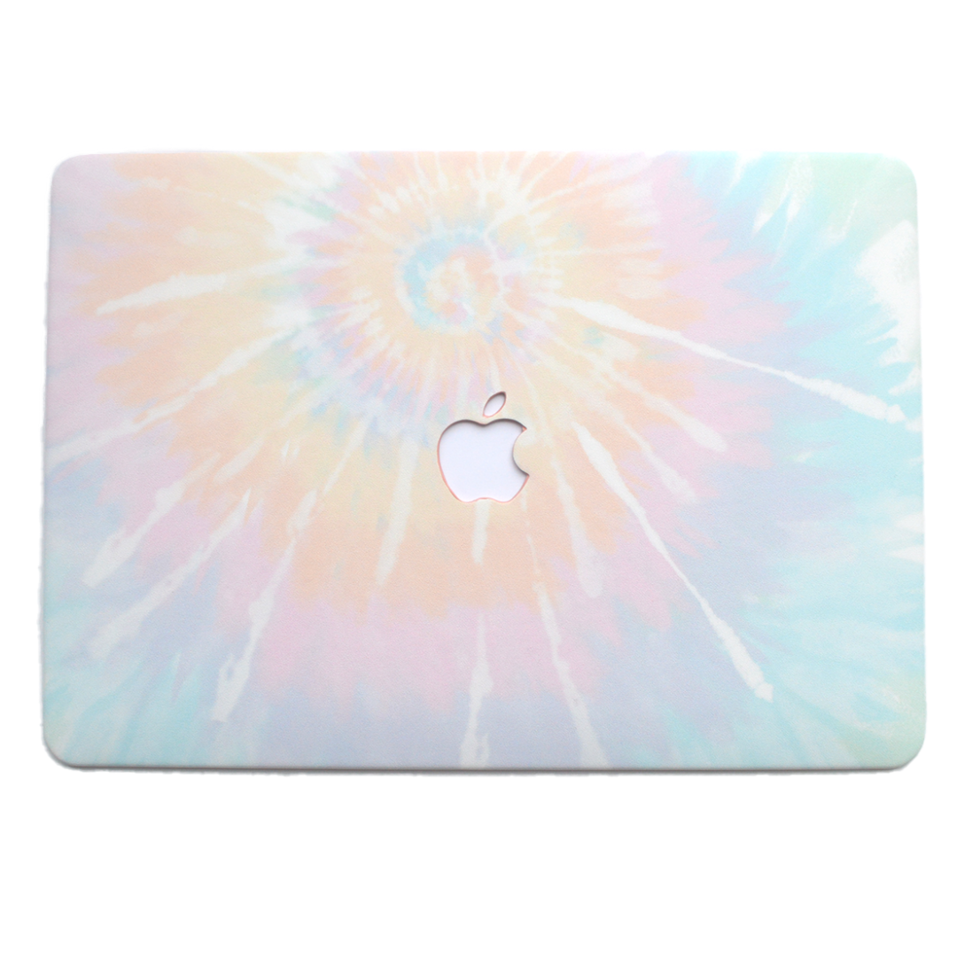 Pastel Tie Dye MacBook Case