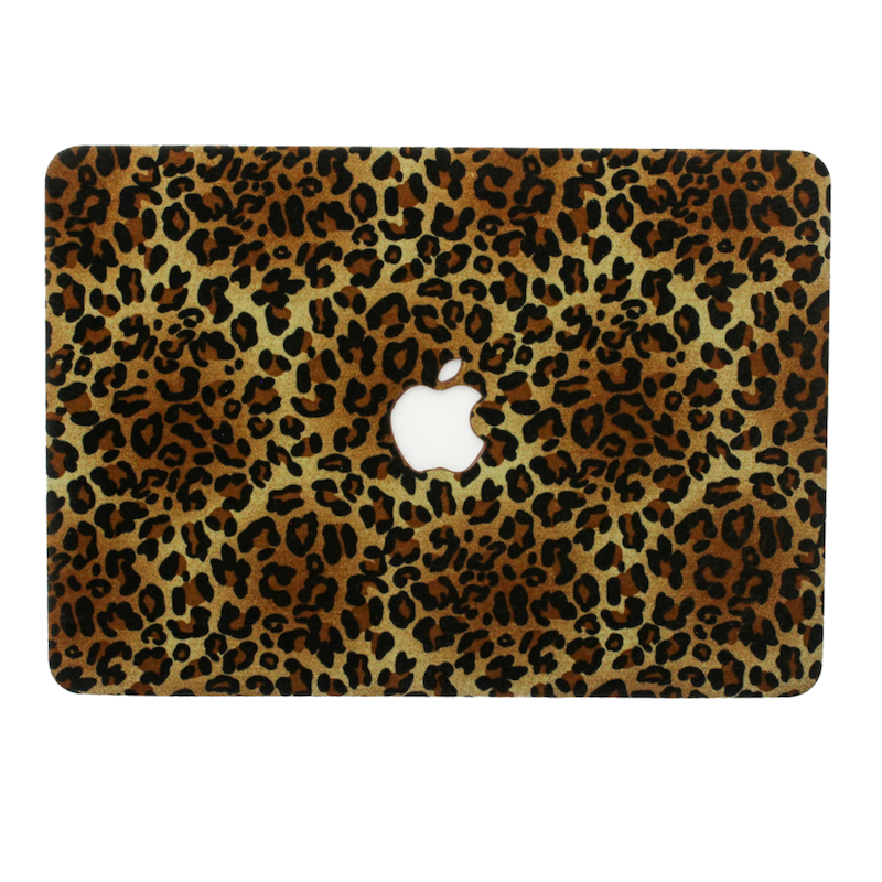 Velvet Leopard MacBook Case