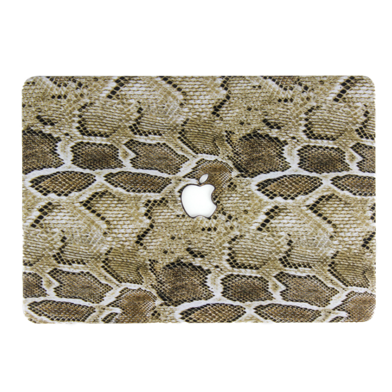Snake Print MacBook Case