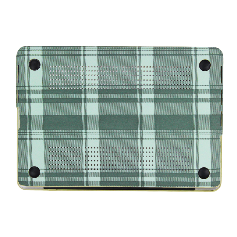 Dusty Green Tartan MacBook Case