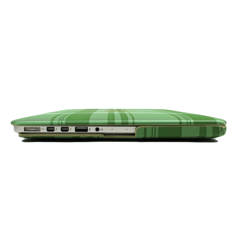 Kelly Green Tartan MacBook Case