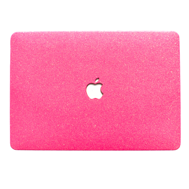 Neon Pink MacBook Case