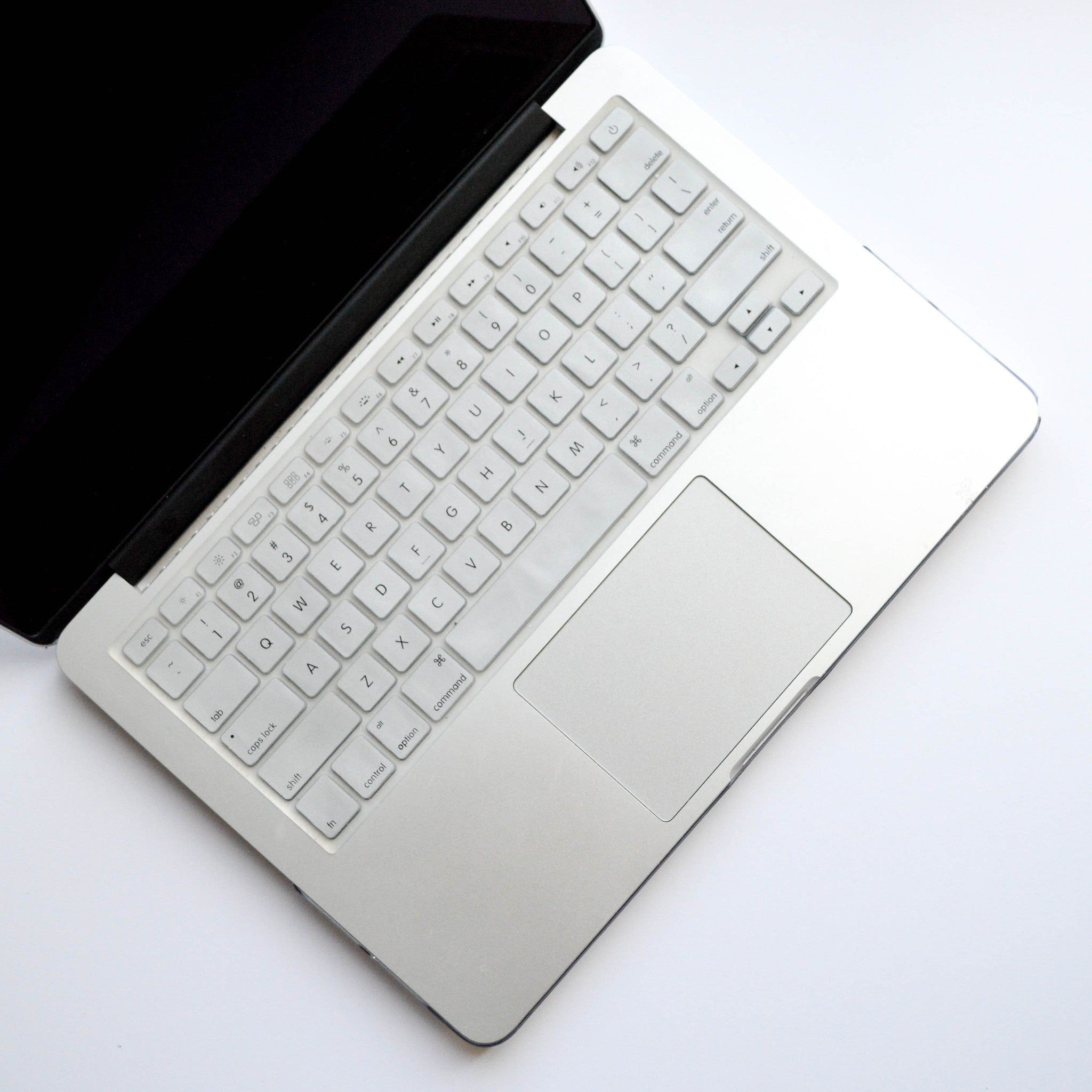 Silicone Keyboard Cover- Silver - Embrishop  - 1