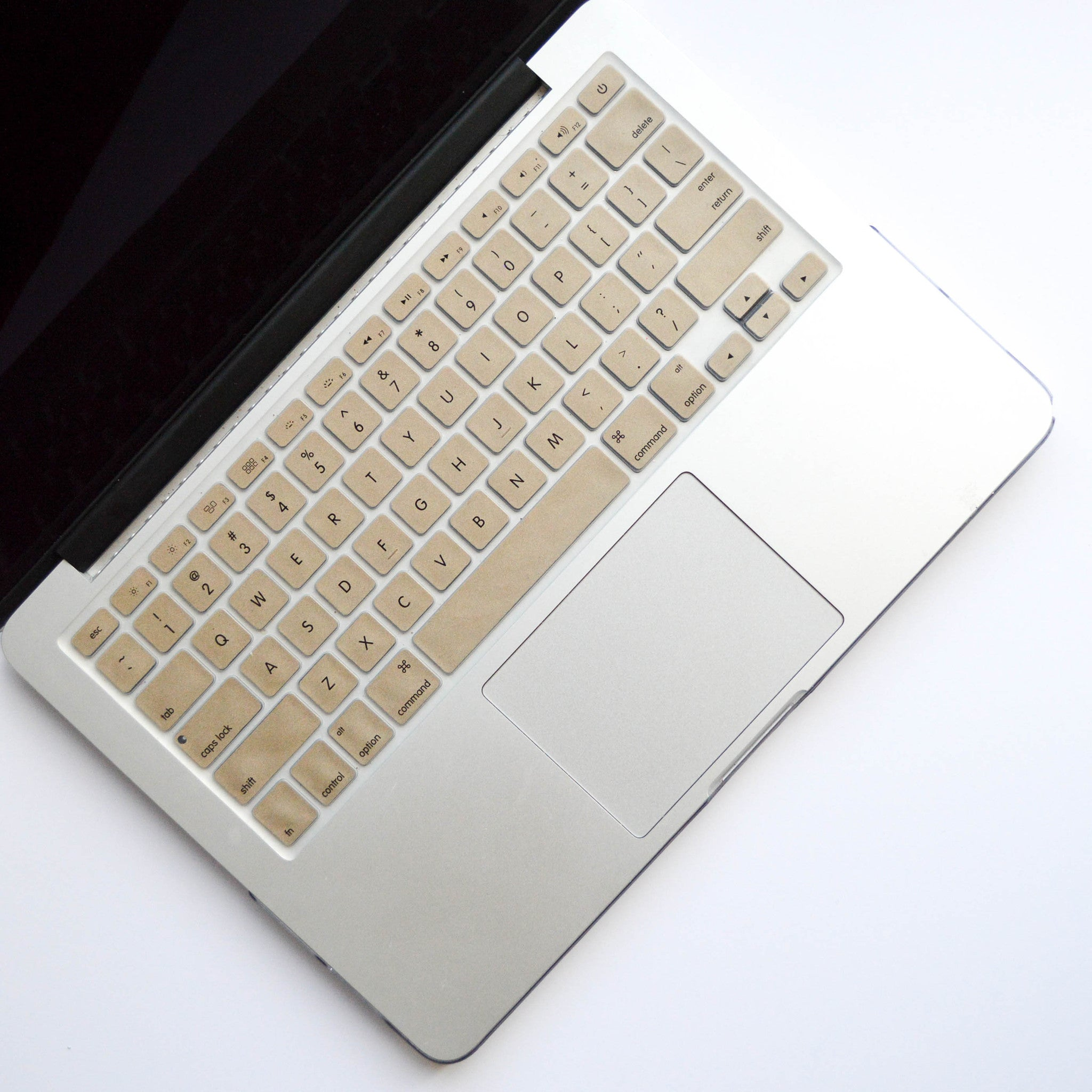 Silicone Keyboard Cover- Gold - Embrishop  - 1